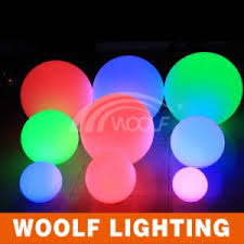 china changing color outdoor hanging led light balls china