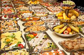 table full of food catering table full of appetizing foods stock photo more pictures