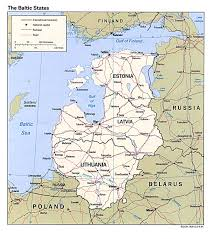 States Ive Been To Map by Baltic Maps Eurasian Geopolitics