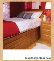 bed woodshop plans