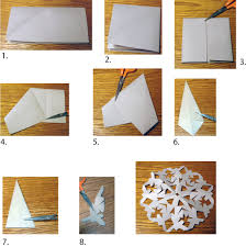 Paper Christmas Decorations Pearl And Earl by How To Cut Easy 6 Sided Snowflakes From Paper Or Fabric Fabrics