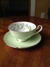 vintage shelley fine bone china cup saucer old mill england gold