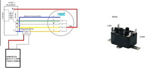 help wiring nest 2 0 to aprilaire 600m humidifier solenoid n29