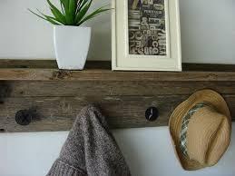 barn wood shelf and coat rack u2013 craftbnb