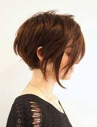 uneven bob for thick hair for thick hair women short haircuts ideas hairzstyle com