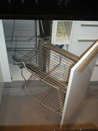 Kitchen Cabinet Pull Out Baskets Pull Out Side Cabinets With Retractable Frame Baskets