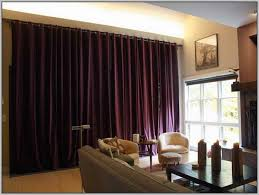 extra wide bay window curtain rods curtains home design ideas