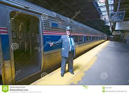 Amtrak Map East Coast by Conductor At Amtrak Train Platform Announces All Aboard At East