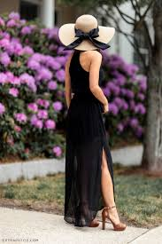 classic black with a bow black maxi lush and maxi dresses