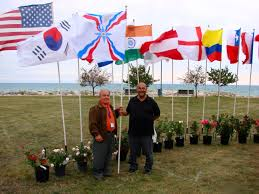 Chaldean Flag Ninos Aho The Great Assyrian Poet