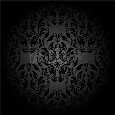 luxury seamless charcoal gothic pattern dark wallpaper royalty
