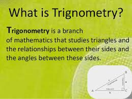 maths ppt on some applications of trignometry