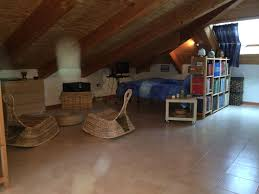 lovely attic for two square meters 75 ca with terrace over the