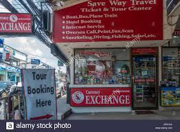 bureau de change ile de ticket sales tourism stock photos ticket sales tourism stock
