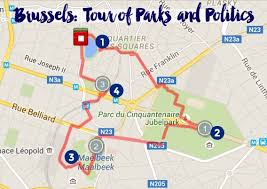 map brussels a self guided walking tour of brussels intentional travelers