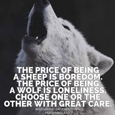 Angry Wolf Meme - what alpha wolves are really like the art of manliness