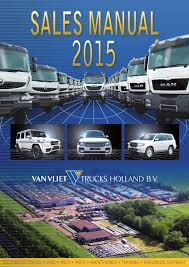 sales manual 2015 by van vliet trucks holland issuu