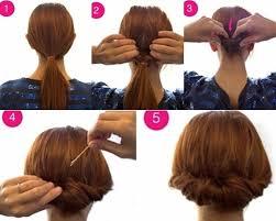 tutorial rambut tutorial sanggul simpel nan elegan hanya dalam 3 menit merahputih