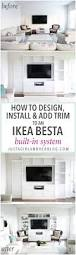 How To Install Built In Bookshelves by Top 25 Best Ikea Built In Ideas On Pinterest Ikea Closet Hack