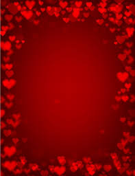 Design For Valentines Card Background For Valentines Free Vector In Adobe Illustrator Ai