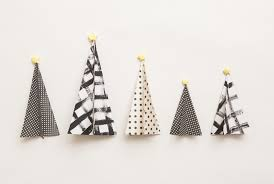 Christmas Decorations Paper Tree by How To Make Paper Christmas Trees Modern Christmas Decorations
