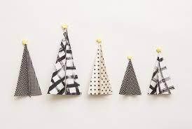 modern christmas how to make paper christmas trees modern christmas decorations