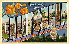 custom greetings from your state 1950 s style vintage postcards