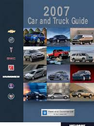 2007 gm car and truck guide general motors hybrid vehicle