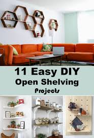 Diy Shelves For Bathroom by 11 Easy Diy Open Shelving Projects For Any Room