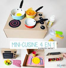 mini cuisine jouet fabriquer une cuisine avec une boîte à chaussures boîtes minis et