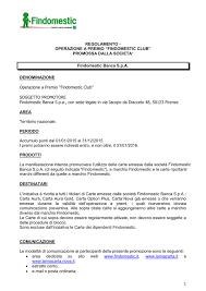 findomestic spa sede legale 1 regolamento operazione a premio findomestic