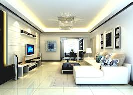 Modern Living Room Tv Living Room Tv Wall Design Neon Lamp Gray Sofa And Couch Best