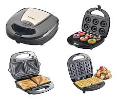 Toaster Sandwich Maker Laptronix 3 In 1 Non Stick Sandwich Maker Waffle Doughnut Maker