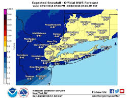 Snowfall Totals Map Nws Ups Snowfall Totals Winter Storm Watch Posted Connecticut Post