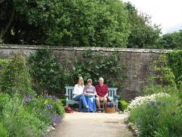 west dean gardens lavender and leeks