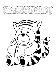 baby shower coloring pages free nursery printables hush little