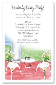 big hat brunch invitations kentucky derby party invitations the invitation shop