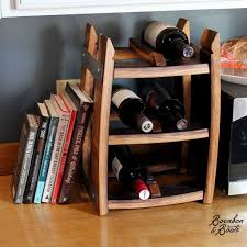 Antler Wine Rack by Reclaimed Wine Barrel Tabletop Wine Rack
