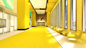yellow hall storage unit interior design ideas arafen