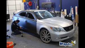 black lexus 2008 matte black lexus ls 460 3m 1080 matte black vehicle wrap youtube