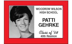 high school reunion name tags this badge idea reunions could be the parents of the person