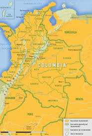 Colombian Map 38 Colombia