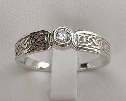 celtic engagement rings gold scottish celtic engagement ring love2have in the uk