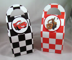 Birthday Favor Boxes by Cars Birthday Favor Boxes Featuring Lightning Mcqueen And Cars