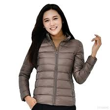 ultra light down jacket in a bag ssoy women s ultra lightweight stand collar packable down jacket