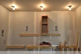 How To Install Kitchen Cabinets Yourself Wall Of Cabinets Installed Plus How To Install Cabinets By