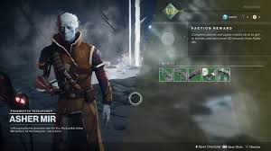 highest light in destiny 2 destiny 2 how to earn faction reputation and rewards tl dr games