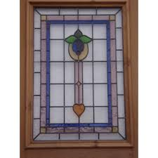 stained glass door patterns sd055 victorian edwardian stained glass 3 panelled door with
