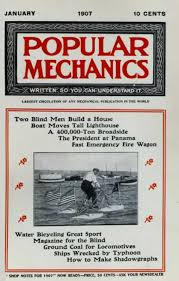 Magazines For The Blind Popular Mechanics Covers
