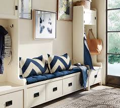 Pottery Barn Greenwich Sofa by Wade Bench Almond White Pottery Barn
